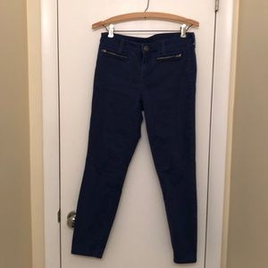Blue Gap skinny pants